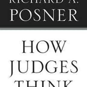 How Judges Think is listed (or ranked) 14 on the list The Best Books About Jurisprudence