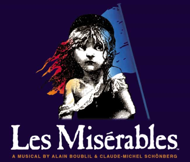 Les Misérables is listed (or ranked) 1 on the list The Best Plays Based on Books