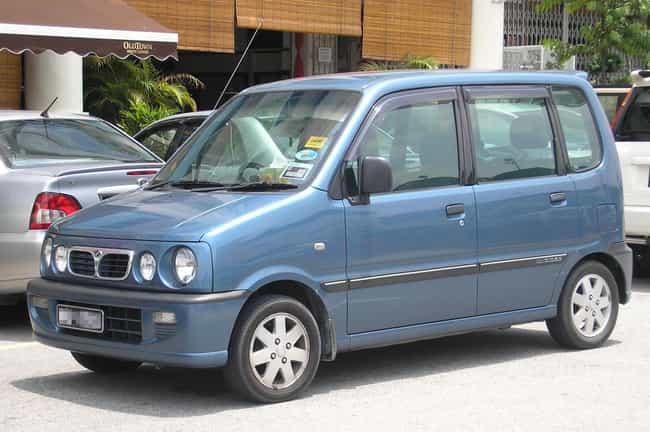 Perodua Kenari is listed (or ranked) 3 on the list Full List of Perodua Models