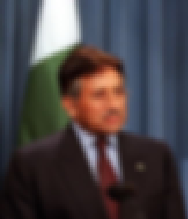 Pervez Musharraf is listed (or ranked) 22 on the list List of Famous Dictators