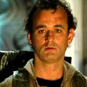 Peter Venkman is listed (or ranked) 1 on the list The Best Bill Murray Film Character