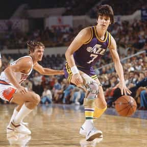 Pete Maravich is listed (or ranked) 7 on the list The Greatest Point Guards in NBA History