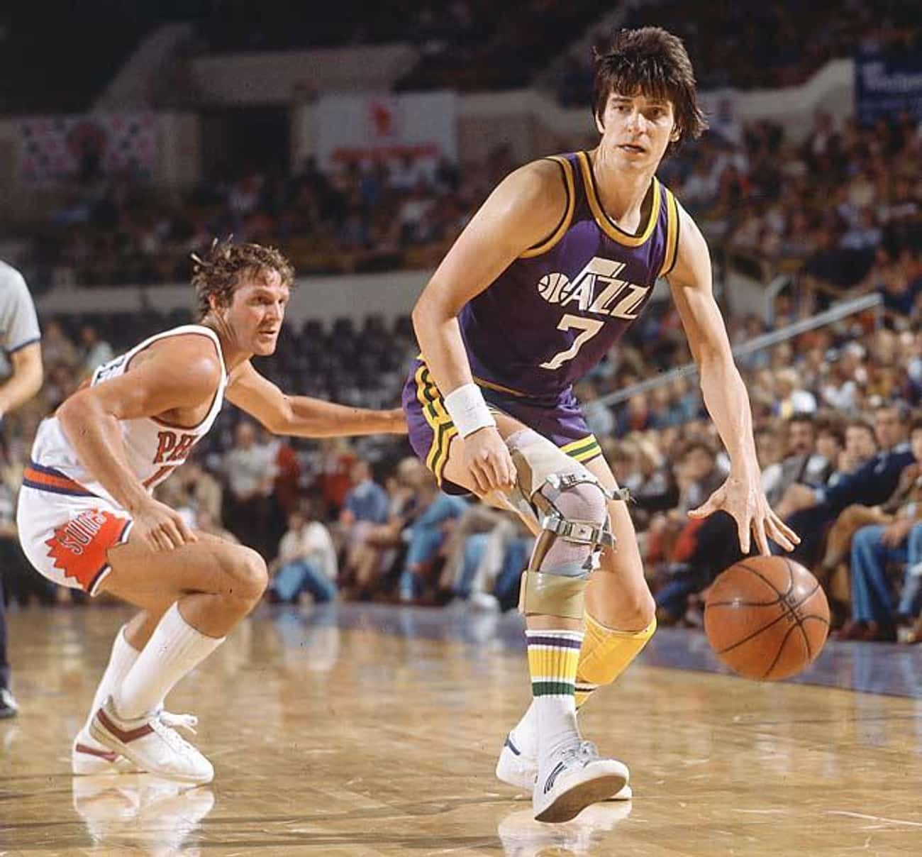 Pete Maravich is listed (or ranked) 1 on the list Famous Needham B. Broughton High School Alumni