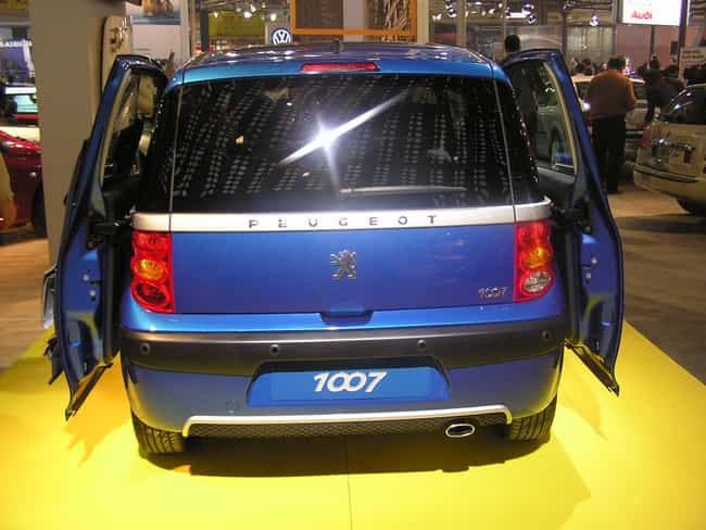 Peugeot 1007 is listed (or ranked) 2 on the list Full List of Peugeot Models