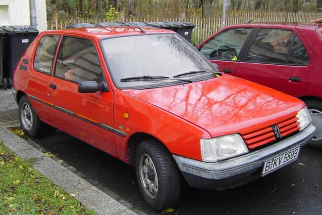 Peugeot 205 is listed (or ranked) 4 on the list Full List of Peugeot Models