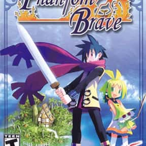 Phantom Brave is listed (or ranked) 12 on the list Nippon Ichi Games List