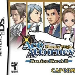 Phoenix Wright: Ace Attorney:  is listed (or ranked) 7 on the list The Best Ace Attorney Games