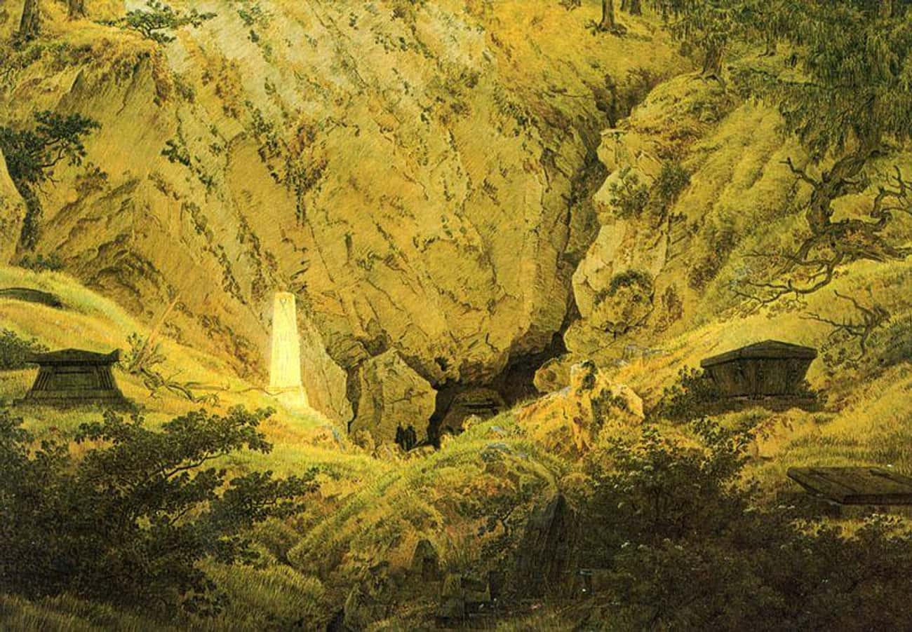 Old Heroes' Graves is listed (or ranked) 2 on the list Famous German Romanticism Paintings