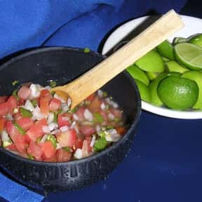 Pico de gallo is listed (or ranked) 21 on the list The Most Delightful Side Dishes For Barbeque, Ranked
