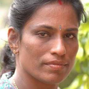 P. T. Usha is listed (or ranked) 5 on the list Famous Female Athletes from India