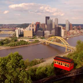 Pittsburgh is listed (or ranked) 8 on the list The Best US Cities for Walking