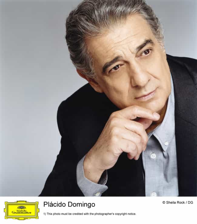 Plácido Domingo ... is listed (or ranked) 3 on the list List of Famous Tenors