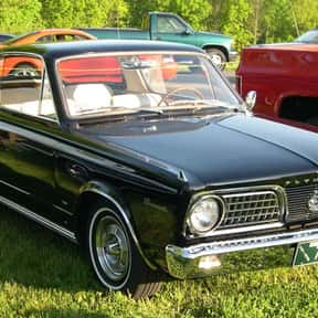 Plymouth Barracuda is listed (or ranked) 25 on the list The Best 1960s Cars