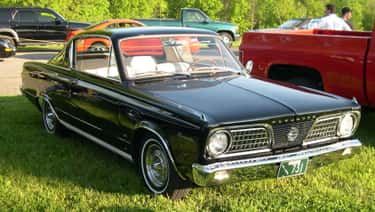 Plymouth Barracuda is listed (or ranked) 1 on the list Full List of Plymouth Models
