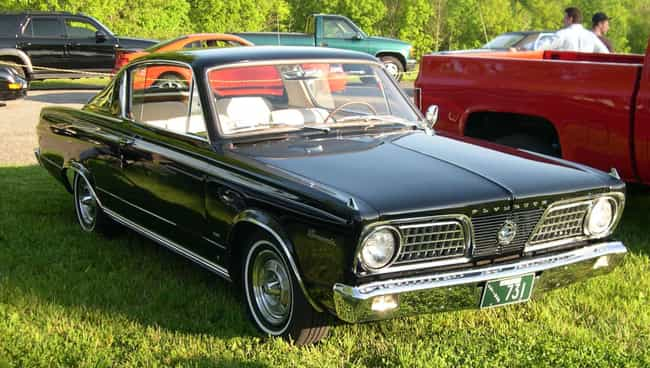 Plymouth Barracuda Is Listed Or Ranked 1 On The List Full Of