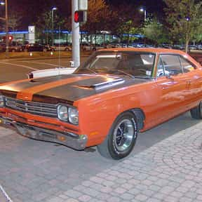 Plymouth Road Runner is listed (or ranked) 7 on the list The Best 1960s Cars