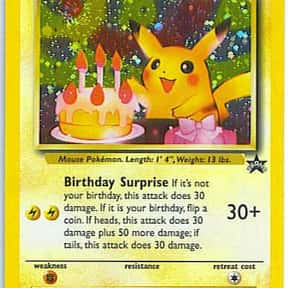 Pokémon Trading Card Game is listed (or ranked) 24 on the list The Most Popular & Fun Card Games