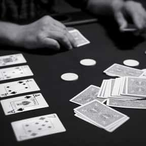 Poker is listed (or ranked) 2 on the list The Most Popular & Fun Card Games