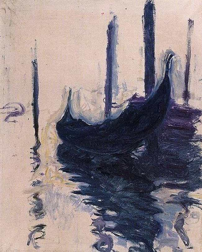 Gondola in Venice is listed (or ranked) 2 on the list Famous Marine Arts by Claude Monet