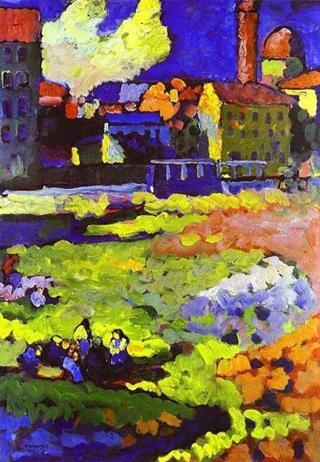 Munich-Schwabing with th... is listed (or ranked) 4 on the list Famous Wassily Kandinsky Paintings