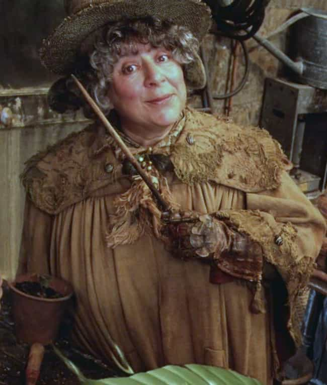 Pomona Sprout is listed (or ranked) 4 on the list The Best Members of Hufflepuff