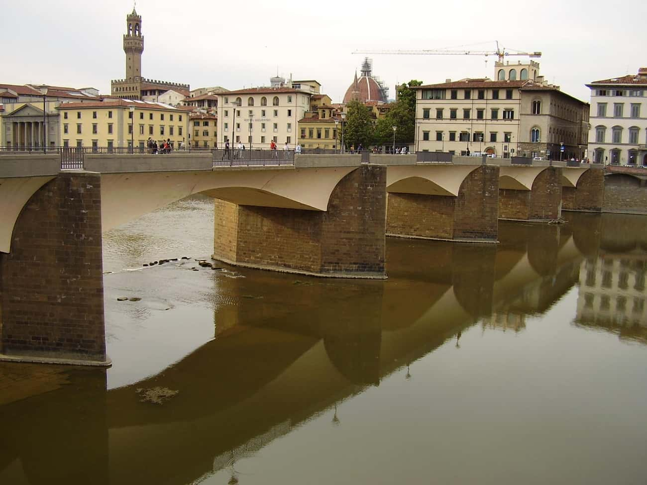 Ponte alle Grazie is listed (or ranked) 4 on the list Bridges in Italy