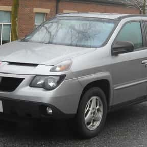 Pontiac Aztek is listed (or ranked) 3 on the list The Worst Cars Ever Made