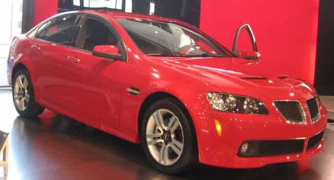 Pontiac G8 is listed (or ranked) 2 on the list Full List of Holden Models