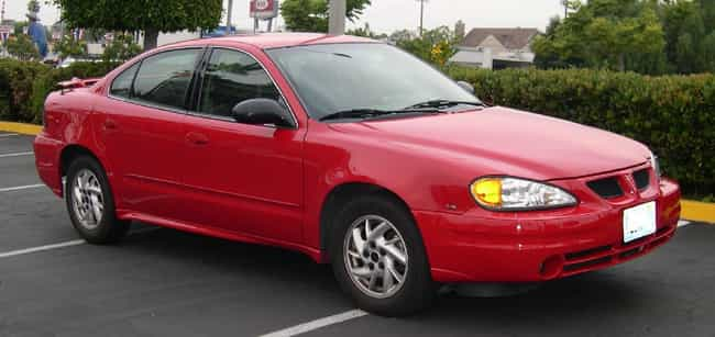 Pontiac Grand Am Is Listed Or Ranked 4 On The List Full Of