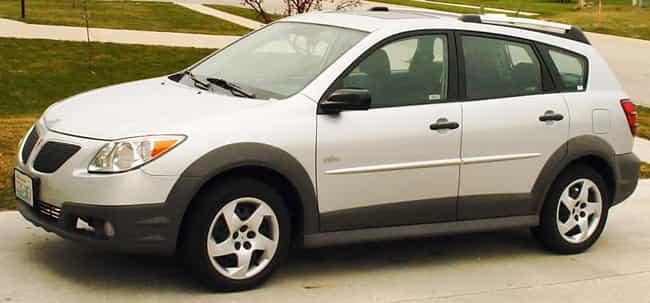 Pontiac Vibe is listed (or ranked) 3 on the list Full List of Pontiac Models