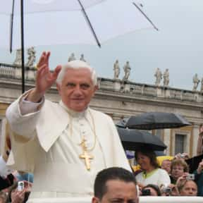 Pope Benedict XVI is listed (or ranked) 6 on the list List of Famous Pianists