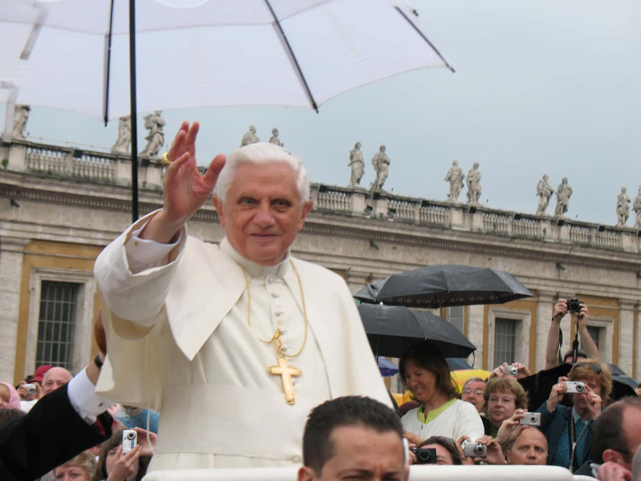Pope Benedict XVI is listed (or ranked) 3 on the list Famous Male Teachers