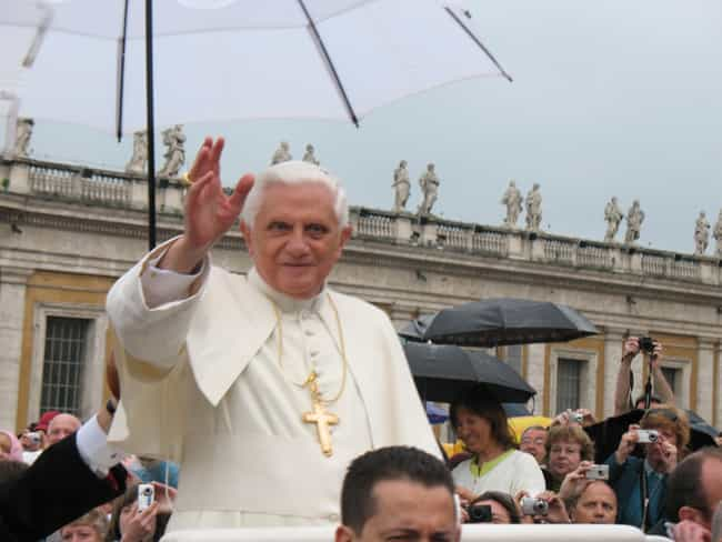 Pope Benedict XVI is listed (or ranked) 1 on the list List of Famous Priests