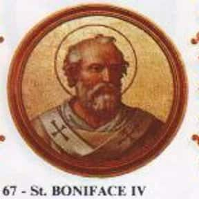 Pope Boniface IV is listed (or ranked) 3 on the list Complete List of 7th Century Popes