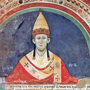 Pope Innocent III is listed (or ranked) 19 on the list Famous University Of Paris Alumni