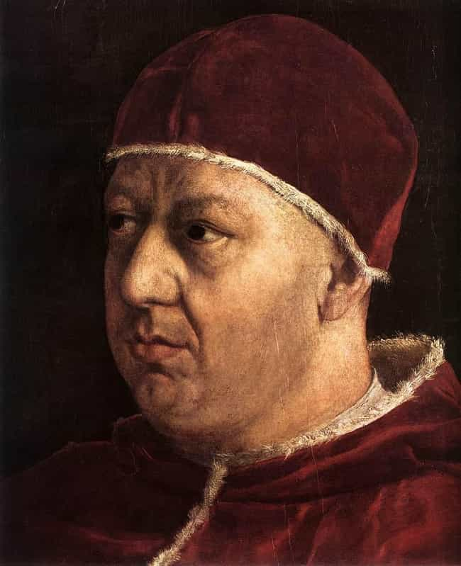 Pope Leo X is listed (or ranked) 1 on the list Who Was The Most Self-Indulgent Royal In History?