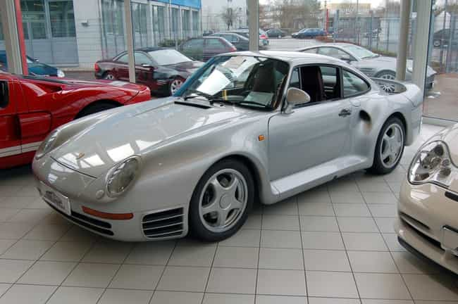 Porsche 959 Is Listed Or Ranked 7 On The List Full Of