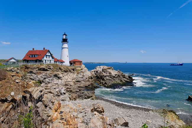 Portland Head Light is listed (or ranked) 1 on the list The Most Awe-Inspiring Lighthouses in the World
