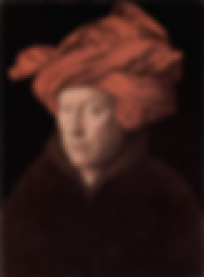Portrait of a Man (Self Portra... is listed (or ranked) 7 on the list List of Famous Jan Van Eyck Artwork