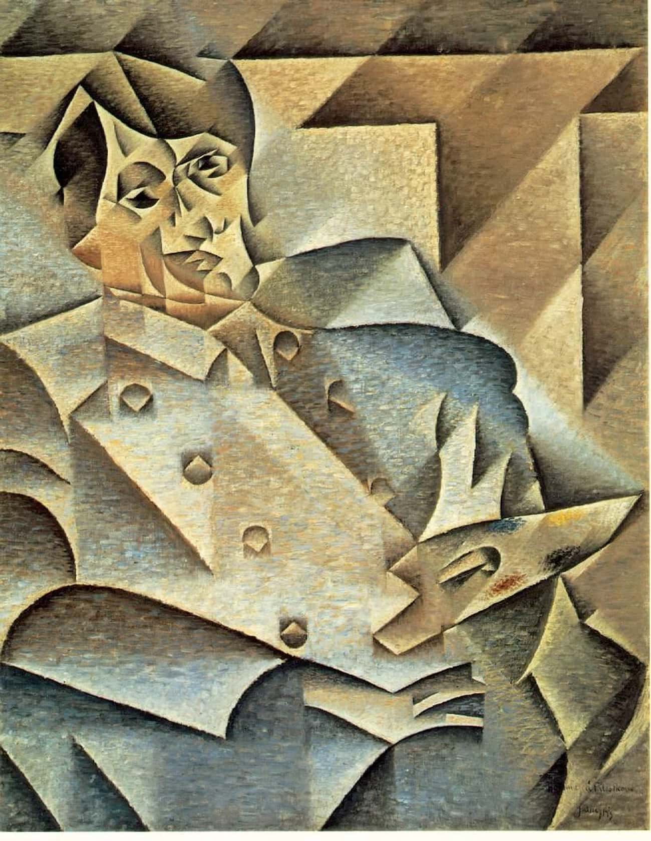 Portrait of Picasso