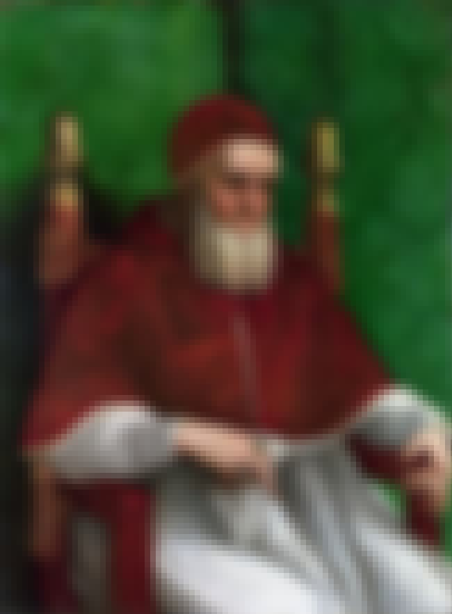 Portrait of Pope Julius II is listed (or ranked) 4 on the list Famous High Renaissance Artwork