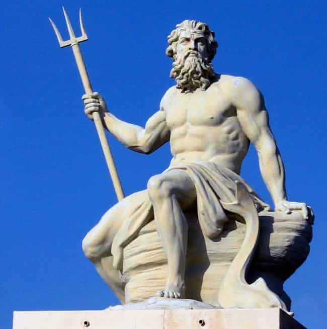 Poseidon is listed (or ranked) 2 on the list All The Greek Gods on Mount Olympus