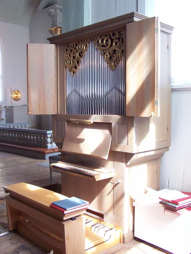 Positive organ is listed (or ranked) 3 on the list Organ - Instruments in This Family