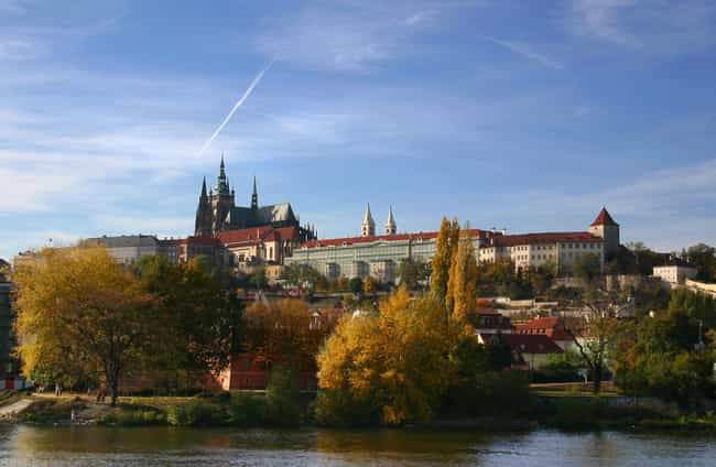 Prague Castle is listed (or ranked) 1 on the list The Most Beautiful Castles in Czech Republic