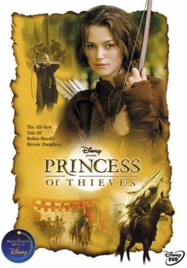 Princess of Thieves is listed (or ranked) 3 on the list 19 Disney Movies You Totally Forgot About