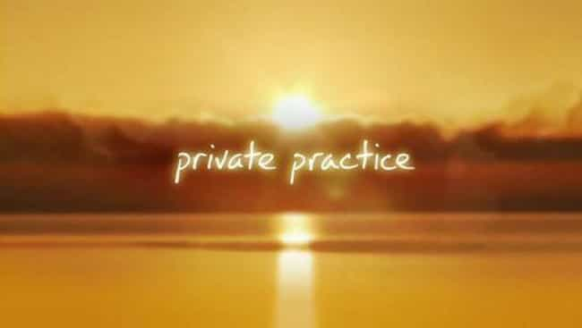Private Practice is listed (or ranked) 1 on the list What to Watch If You Love 'Grey's Anatomy'