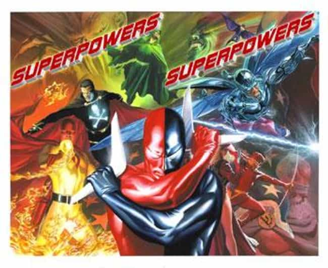 Project Superpowers is listed (or ranked) 3 on the list Alex Ross Comic Books
