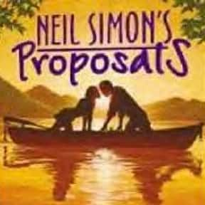 Proposals is listed (or ranked) 17 on the list Neil Simon Plays