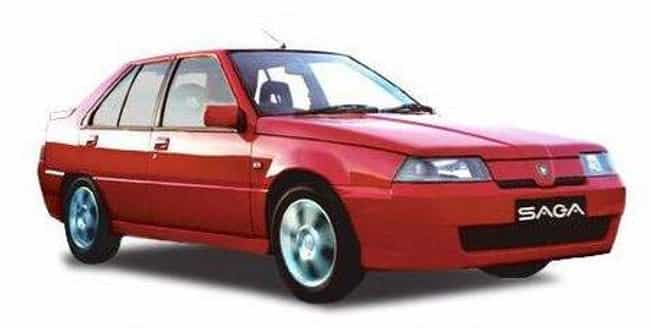 Proton Saga is listed (or ranked) 3 on the list Full List of Proton Models