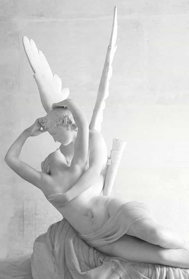 Psyche Revived by Cupid's Kiss is listed (or ranked) 3 on the list Famous Antonio Canova Sculptures